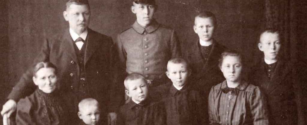 Die Familie Auwärter um 1920