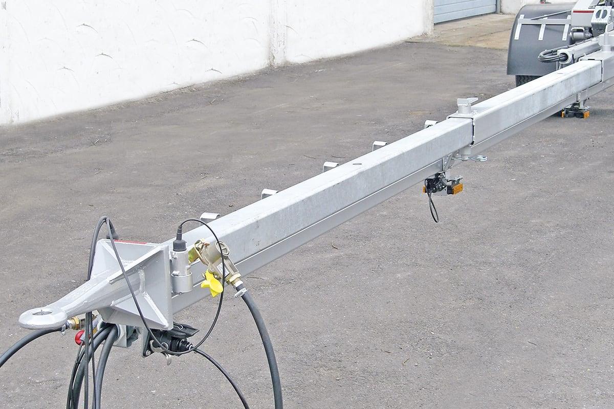Teleskopauszug LKW Nachläufer