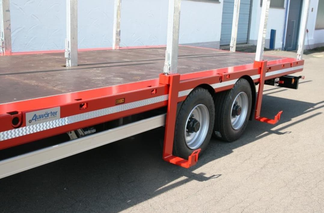 Top X-LTL110 – the economical tandem platform trailer &XZ_38